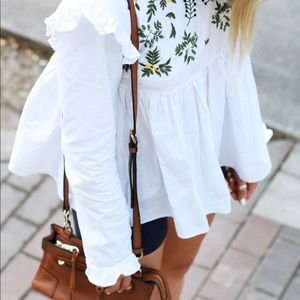 Tops - Adorable Floral Babydoll Top